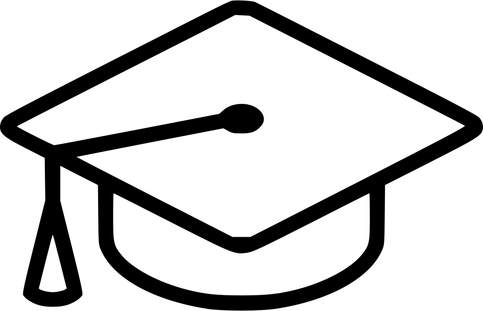 Graduation Cap Icon - Free Download, PNG and Vector